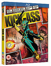 KICK-ASS BLU RAY REEL HEROES LIMITED EDITION (REGION FREE) NEW REGION 2 DVD