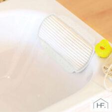 Luxury Memory Foam Cushioned Bath Spa Pillow Cushion Relax Retreat - BAC827