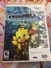 Final Fantasy Fables: Chocobo's Dungeon (Nintendo Wii) --S2G--