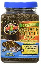 Zoo Med Hatchling Formula Natural Aquatic Turtle Food net weight 8 oz best prices on ebay