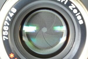 Tested! [MINT] CONTAX Carl Zeiss Planar 45mm f/2 T* for G1 G2 from JAPAN #123