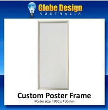 Custom Silver SNAP LOCK Poster Frame CLIP LOCK Poster Frame
