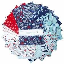 "Riley Blake, Deep Blue Sea, 10"" Stacker, Fabric Quilt Squares, 10-9030-42, B12"