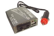 TRASFORMATORE INVERTER 150W 12V 220V PRESA USB AUTO CASA BARCA CAMPEGGIO S150