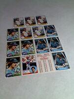 Bobby (Bob) Molinaro:  Lot of 100+ cards.....15 DIFFERENT / Baseball