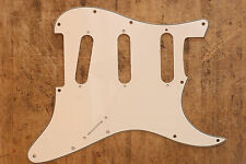 Golpeador Parchment Stratocaster SSS No Pots Holes Sin Agujeros Potes Pickguard