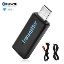 Bluetooth Audio Transmitter Sender USB Stereo Dongle Adapter for TV PC DVD MP3
