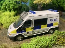 Cararama 1/43 Code 3 Police Ford Transit Support Van In Box