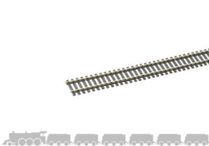 OO gauge flexible wooden sleeper track (nickel silver rail) Peco SL-100 - 914mm