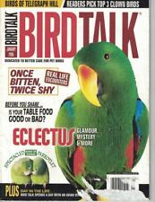 Bird Talk Magazine Jan 2005 Spectacled Parrotlet, Eclectus, Table Food Good Bad
