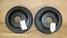 "1937 1938 Pontiac Drum Rear Wheel Brake 12"" Pair Lot # 10, NOS"