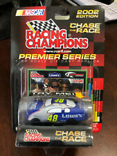 2002 Jimmie Johnson Lowes RAIN DELAY California Race Win car 1:64 RC 1 of 500
