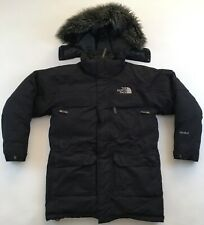 The North Face McMurdo goose down HyVent hooded parka jacket black mens Small S
