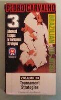 pedro carvalho BRAZILIAN JIU JITSU vol 23 TOURNAMENT STRATEGIES  VHS VIDEOTAPE