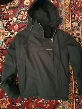 Windbreaker Waterproof Herren Jacke Outdoor Hoodie Gr. S Neuwertig vegan