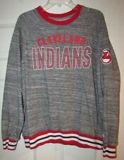 MLB Cleveland Indians Long Sleeve Shirt by New Era Large