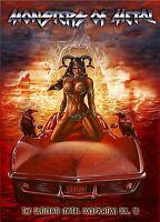 MONSTERS OF METAL VOL.10 (SLAYER, MACHINE HEAD, LAMB OF GOD, KREATOR) 2 DVD NEU