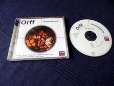 CD Carl Orff Carmina Burana Antal Dorati Burrowes Devos Brighton Chorus DECCA