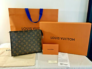 NEW, BOXED LOUIS VUITTON LV Monogram Large Toiletry Pouch 26. SCARCE. FULL DOCS
