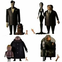 The Addams Family 5 Points Action Figures The Complete Set of 8 Figures by Mezco
