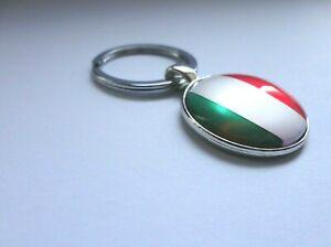 Italy Flag Keyring