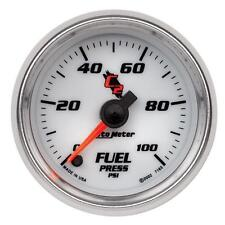 UNIVERSIAL DODGE FORD CHEVY AUTO METER C2 SERIES FUEL PRESSURE 7163..
