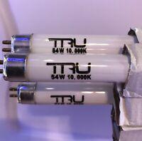 3 Pack Tru 54 Watt 10k/Daylight T5 Aquarium Bulb (45 Inch) *3 Bulbs*