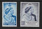 FALKLAND IS DEPENDENCIES GV1 1948 Royal Silver Wedding SET LH.Mint