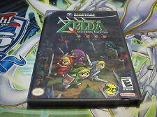 Zelda Four Four Swords Adventures Complete (Gamecube, 2004) Fast Shipping