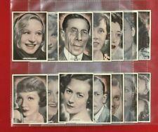 More details for film stage & radio stars - ardath - 1935 xl cigarette card near set 24/25 (te35)