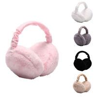 Foldable Earmuffs Cute Hamburger Ear Warmers  Men Women Winter Warm Ear Cover gt