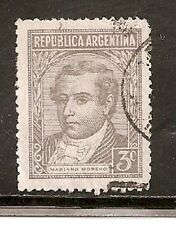 Argentina Stamps-Scott # 527/A134-3c-Canc/LH-1946-NG