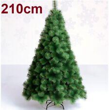 Arbol de Navidad 1.5m con 100 Luces Blancas de LED Incluidas - Verde Pino Nevado