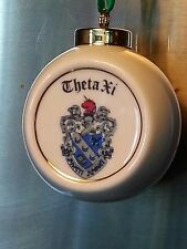 Theta Xi Ball Ornament