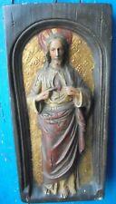 SACRE COEUR DE JESUS Platre mural