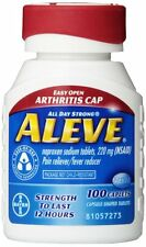 Aleve Arthritis Caplet 100ct