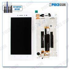 ECRAN LCD + VITRE TACTILE + FRAME pour ASUS ZENFONE LIVE ZB501KL et X00FD BLANC