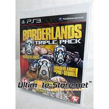 Jeu PlayStation 3 - Borderlands TRIPLE PACK - Neuf sous Blister Officiel PS3
