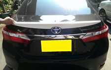 TOYOTA Corolla Altis  2014-2016 Painted Rear Roof Spoiler & Trunk Spoiler