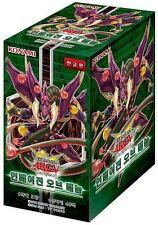 YUGIOH Invasion Vengeance OCG Booster Box Yu-Gi-Oh Korean Ver Card