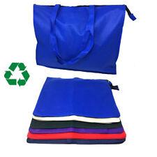 """Gran Grande 20"""" bolsas de compras de comestibles reutilizable con cremallera con fuelle"""