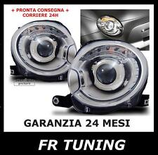 Fiat 500 phares lenticulaires Optiques XENON Look ABARTH
