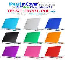 "NEW iPearl mCover® Hard Case for 15.6"" Acer Chromebook 15 CB5-571 C910 CB3-531"