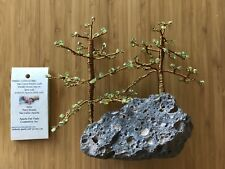 authentic Apache made crafts San Carlos Peridot bonsai tree 881