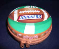 Football Field Zippered Pouch Tin Music Box - Across The Field