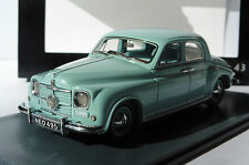 ROVER P4 75 LIGHT TURQUOISE 1949 NEO 45495 1/43 RHD RIGHT HAND DRIVE BLEU CIEL