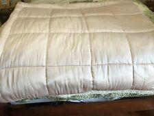 Pottery Barn Portia Silk Cotton Comforter Q Pink