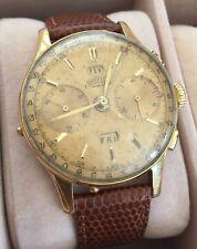 1940s Vintage Angelus Chronodato Chronograph Watch