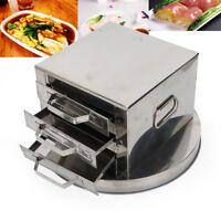 3 Tier Steamer Kitchen Food Steam Pot Cookware Rice Noodle Roll Steaming Machine