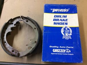 New Pronto Remanufactured Drum Brake Shoe Shoes Rear B363